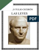 Ciceron Marco Tulio Las Leyes Bilingue