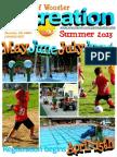 Wooster Recreation Summer 2013 Brochure