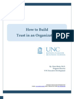 How to Build Trust in an Organization
