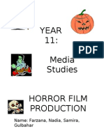 Horror  Booklets