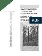 Metodologia INAB para Clasificacion de Tierras Por Capacidad de Uso
