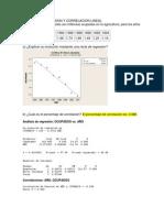 Ejercicios Regresion y Correlacion Lineal