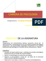 Pruebas Proyectivas 1ra. Clase