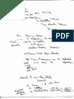 T8 B1 FAA Command Center Rob Raske Fdr- 4-7-04 Interview- Handwritten Notes