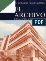 El Archivo. Instalacion y Conservacion