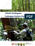Tehnik Pendugaan Cadangan Karbon Hutan
