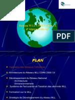 Réseau WLL CDMA 2000-1X d'AT