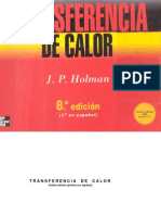 Transferencia de Calor Jp Holman de Huanqui de la UNSA AREQUIPA PERU