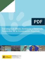Estrategia de Medio Ambiente y Desarrollo Sostenible de la Cooperación Española