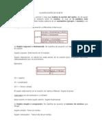 CLASIFICACIÓN DE SUJETO