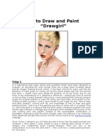 How To Draw and Paint Drawgirl