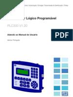 01 WEG Plc300 Adendo Ao Manual Do Usuario 10000958880 1.20 Manual Portugues Br