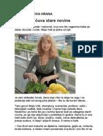 Maja Volk - Clanak Sirova Hrana