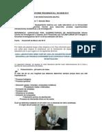 Informe Preliminar Nro 03