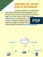02_configuracion de Listas de Acceso Ip Estandar