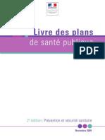 Livre Des Plans de Sante Publique