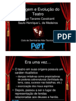 Origem Evolucao Teatro
