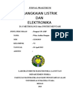 Jurnal Praktikum r.listrik - Elektronika