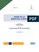 01 - Etiopatogenia de Las Valvulopatias