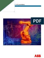 ABB Product Manual Procedures IRB2400 Part 1