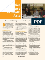 RT Vol. 12, No. 2 Rice Diplomacy in South Asia