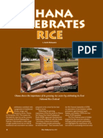 RT Vol. 12, No. 2 Ghana Celebrates Rice