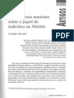 Controvérsias marxistas sobre o papel do indivíduo na História