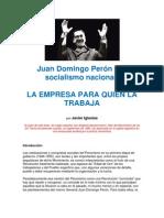 Juan Domingo Perón y el socialismo nacional- Javier Iglesias