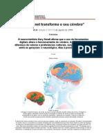 A Internet Transforma o Seu Cerebro - VEJA DIGITAL