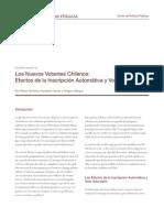 Los Nuevos Votantes Chilenos Efectos de La Inscripcion Automatica y Voto Voluntario
