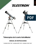 Manual Del Telescopio Celestron Astromaster