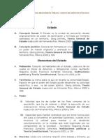 Listado de Conceptos Necesarios Para El Curso de Derecho Politico
