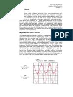 VFD Common Mode Output Current