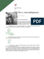 Dios y otras inteligencias (Armando H. Toledo)