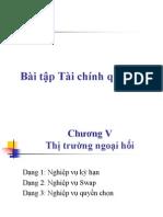 Bai Tap TCQT- TT Ngoai Hoi