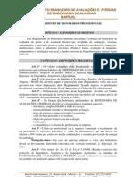 REGULAMENTO DE HONORÁRIOS IBAPE-AL