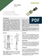 Datasheet Humidity Sensor SHT7x