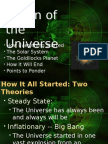 Origin of the Universe-1