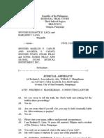 Format Judicial Affidavit 2013 (1) (1)