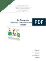 UFT, SAIA, Economía Empresarial, La Demanda