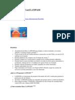 Tarjeta MasterCard LANPASS y Movistar