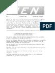 PEN Newsletter No. 3 - Dec 1985