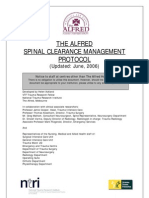 Spinal Clearance S s Alfred Vic