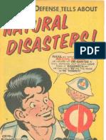 Natural Disasters Comic Book