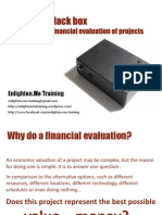 Financial Evaluation of Projects