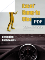 Excel Kung Fu Classes - Dashboards