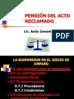 SUSPENSIÓN DEL ACTO RECLAMADO II corregida