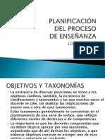 clases OBJETIVOS DE PLANIFICACIÓN  ubo 2013