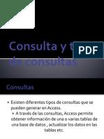 Consulta y Tipos de Consultas