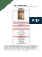 Wikipedia - List of Roman Agricultural Deities (Art)